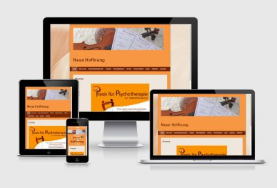 Psychotherapie Odelzhausen Webdesign