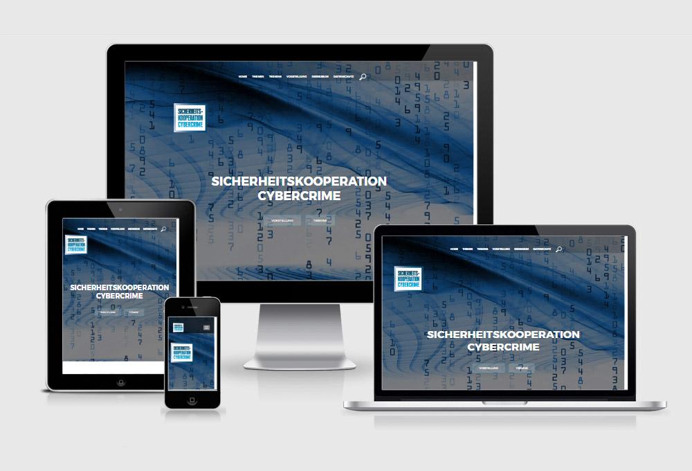Website Sicherheitskonferenz Cybercrime